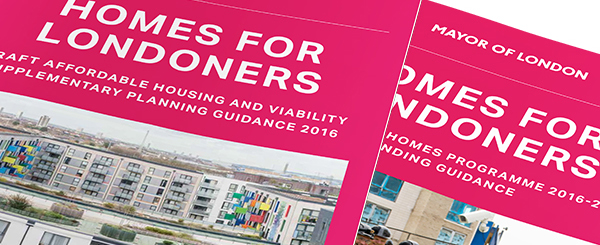London Mayor's 'Draft Affordable Housing and Viability' SPG published, alongside guidance on bidding for grant funding from Affordable Homes Programme 2016-21