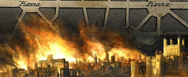 The Great Fire Of London A History Of Master Planning And