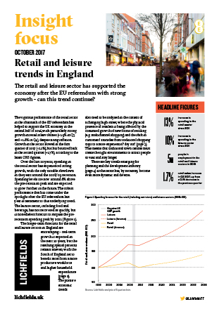 Download Retail and leisure trends in England