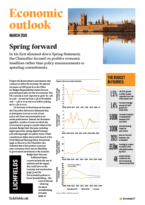 Download Spring Statement 2018: Spring Forward