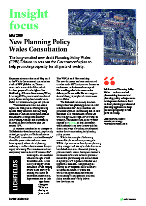 Download New Planning Policy Wales Consultation
