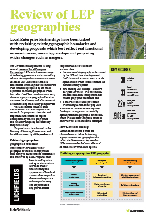 Download Review of LEP geographies