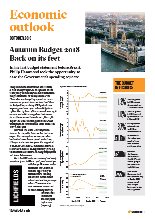 Download Autumn Budget 2018 – Back on its feet