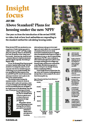 Download Above Standard? Plans for housing under the new NPPF