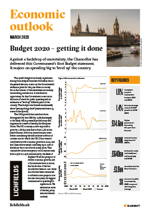 Download Budget 2020 - getting it done