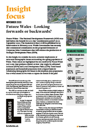 Download Future Wales – Looking forwards or backwards?